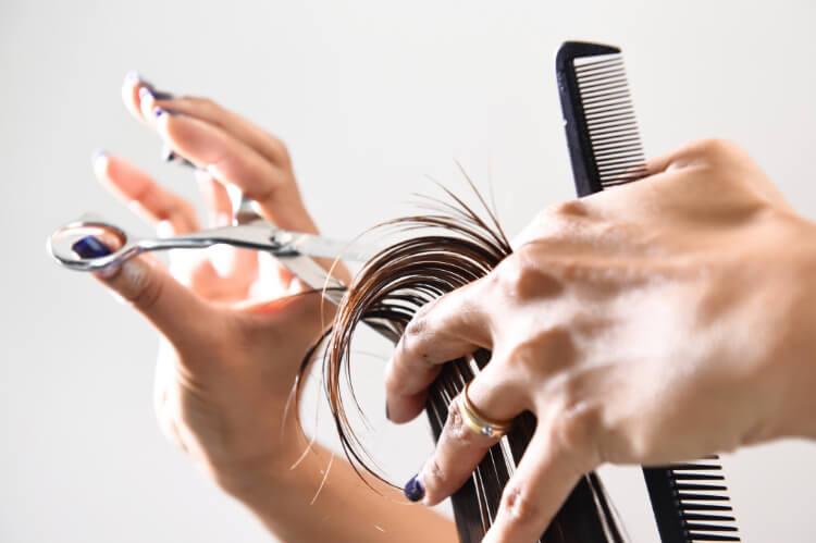 Nasıl Yapılır?: Evde Saç Kırıklarını Almak-1