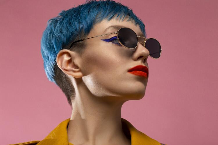 Buz Mavisi Saç Rengi-7