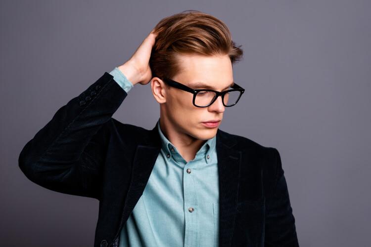 Erkekler için Asimetrik Saç Modelleri-4