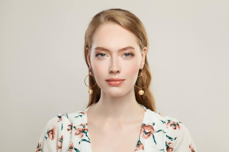 Küpe ile Kullanılabilecek Saç Modelleri-7