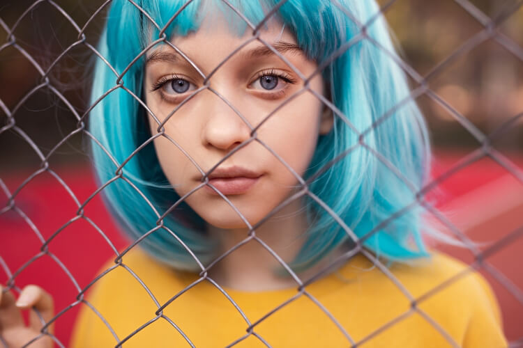 Buz Mavisi Saç Rengi-5