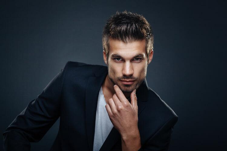 Erkekler için Islak Görünümlü Saç Stilleri-2