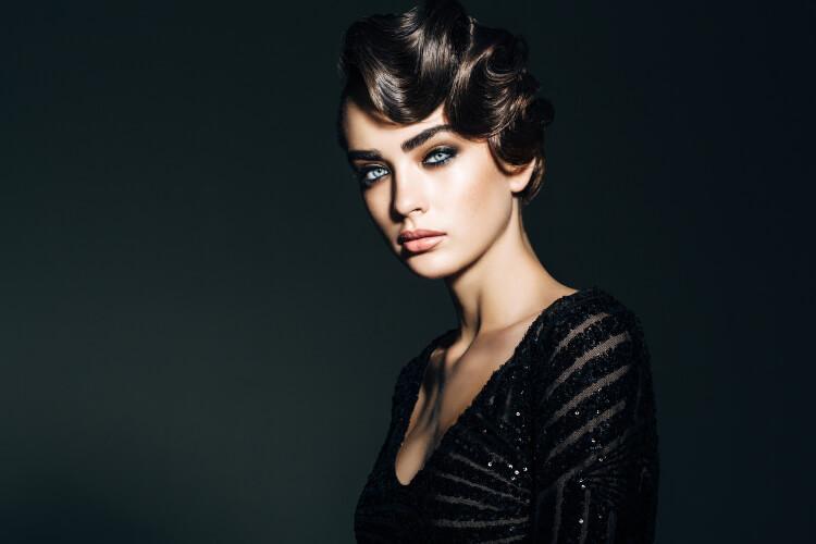 Modern Retro Saç Modelleri-1