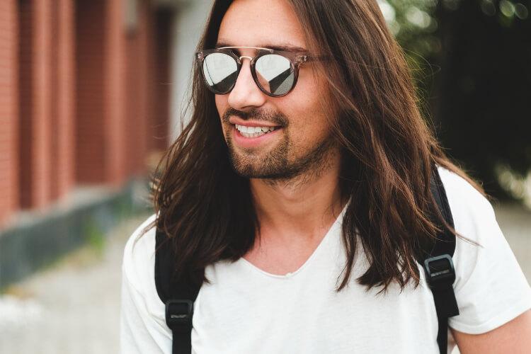 Erkekler için 5 Uzun Saç Modeli-2