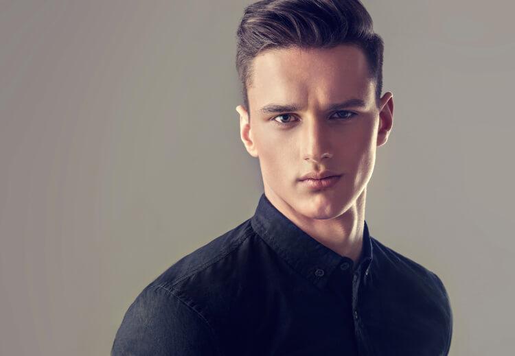 Erkekler için Yandan Ayrılmış Saç Modelleri-3