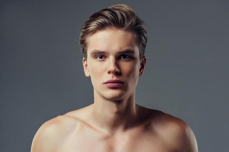 Erkekler için Yandan Ayrılmış Saç Modelleri-2