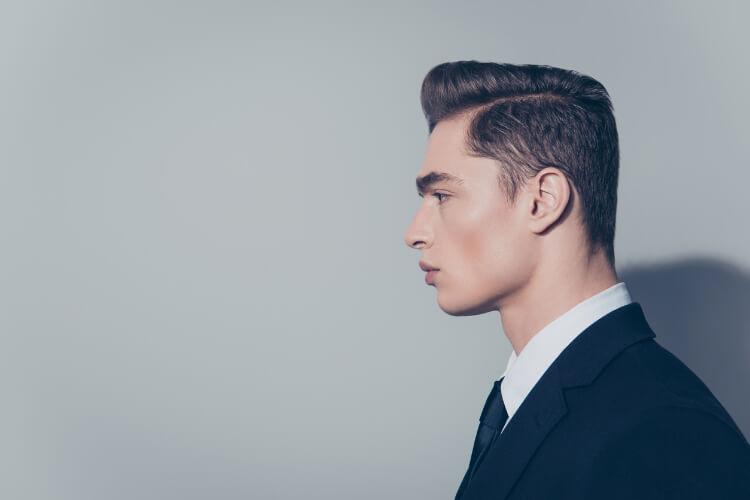 Erkekler için Yandan Ayrılmış Saç Modelleri-1