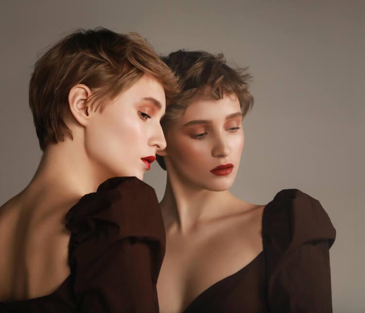Kumrallar için Kısa Saç Modelleri-2