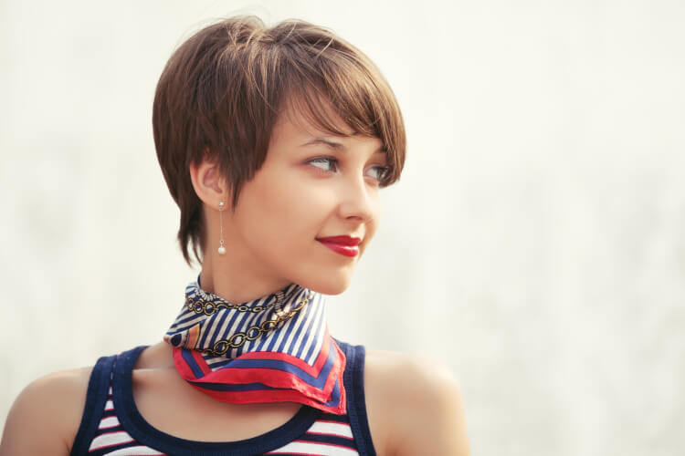 Kumrallar için Kısa Saç Modelleri-4