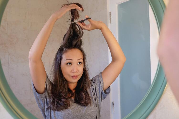 Evde Düz Saç Nasıl Kesilir?-2