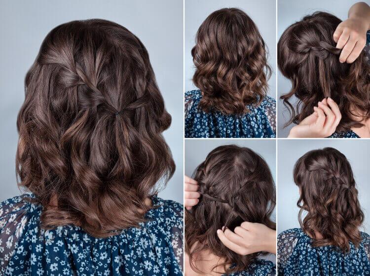 Kısa Saçlar için Örgü Modelleri-1