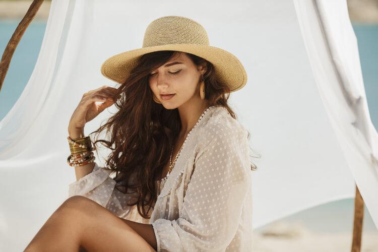 Hasır Şapka Trendi-5