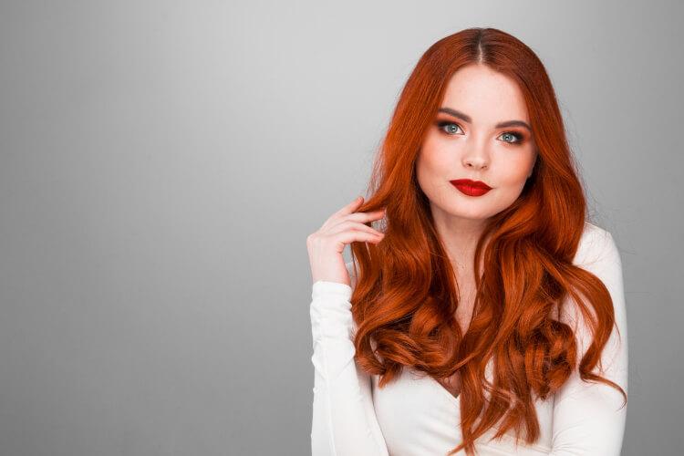 Yükselen Saç Trendi: Vişne Kızıl-11