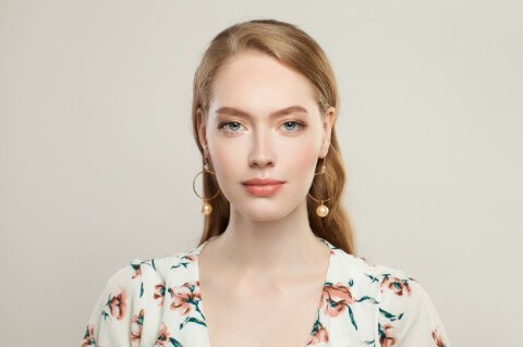 Küpe ile Kullanılabilecek Saç Modelleri-8
