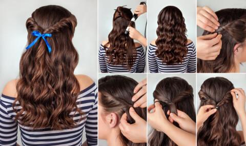 Yeni Saç Trendi: Kurdele İle Renklenen Saçlar-10