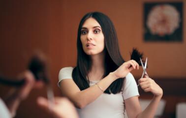 Nasıl Yapılır?: Evde Saç Kırıklarını Almak