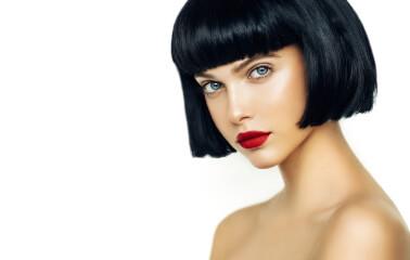 Siyah Saça Kısa Modeller